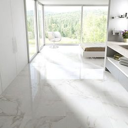 Marble Tile Floor Installation